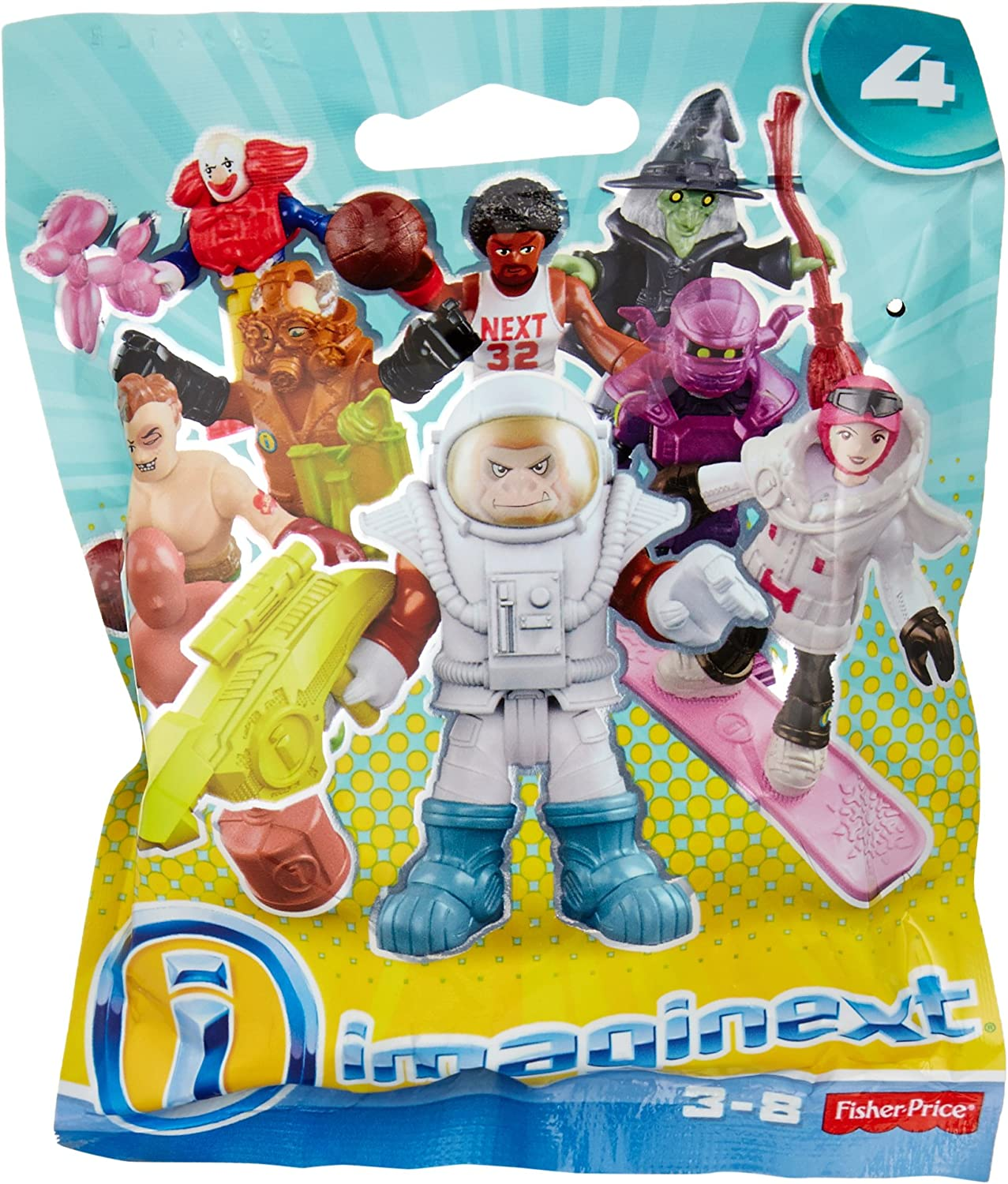 36288b49ceaf Fisher Price Imaginext Series Series Series 4 Collectible Figures ...