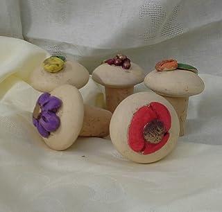 Set 5 de tapones de cerámica