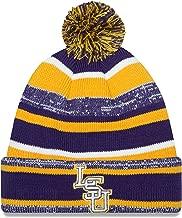 New Era NCAA LSU Tigers College NE14 Sport Knit Beanie, One Size, Purple
