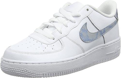 Nike Air Force 1 (GS), Chaussures de Gymnastique Fille