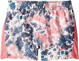 Rainbow Wash 10K Shorts (Little Kids)