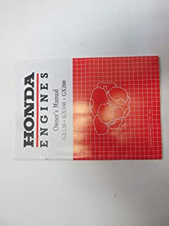 1994 Honda Engines GX120 GX160 GX200 Owners Manual FACTORY OEM BOOK ***