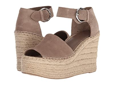 Marc Fisher LTD Alida Espadrille Wedge (Taupe Suede) Women