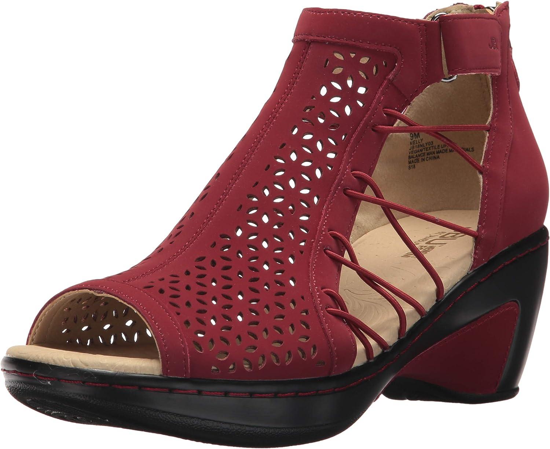 JBU by New York Mall Jambu Women's Sandal Wedge Nelly Max 47% OFF