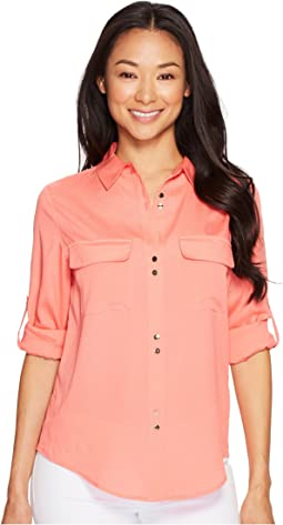 Double Button Blouse