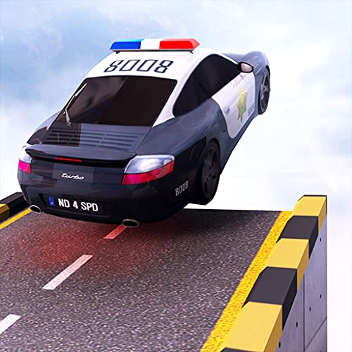 US Police Hot Tricky Car Stunts: Wheel Master Car Racing Game