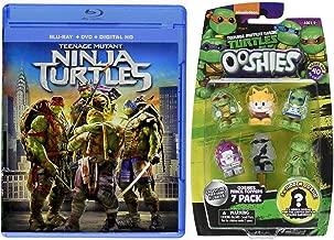 Toppers Heroes To The Rescue Teenage Mutant Ninja Turtles (2014) DVD + Blu Ray & Pencil Top Figure Series TMNT SET