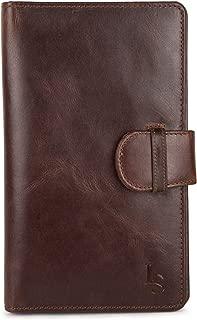 LOUIS STITCH Genuine Leather Unisex Passport Holder|| Royal Cigar Brown || Cheque Book Holder||Travel Wallet||Card Holder