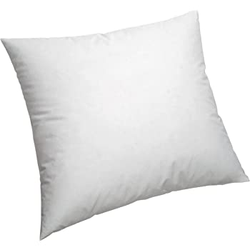 Pikolin Home - Cojín/Cuadrante, de fibra con funda 100% algodón, antiácaros, firmeza media, 45x45cm, Altura 16cm (Todas las medidas): Amazon.es: Hogar