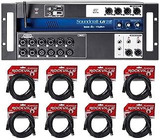 Soundcraft Ui16 16 Input Digital Wifi Mixer+App Control+Recording+(8) XLR Cables