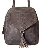 Born - Amherst Distressed Perforated Backpack