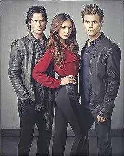 The Vampire Diaries Nina Dobrev, Paul Wesley, Ian Somerhalder - 8 x 10 Promo Photo 004