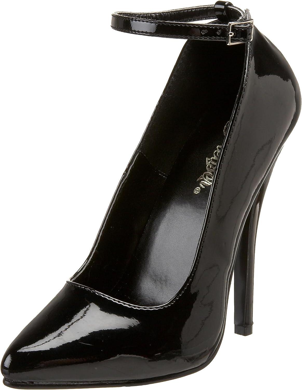 Pleaser Women's Domina-431 Ankle-Strap Pump