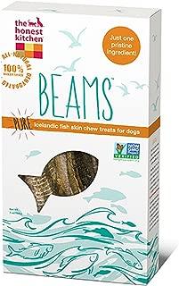 Honest Kitchen Beams Grain Free Dog Chew Treats - Natural Human Grade Dehydrated Fish Skins 7 oz Tall