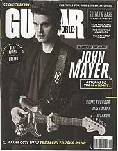 GUITAR WORLD MAGAZINE JUNE 2017, BACK FROM THE DEAD JOHN MAYER