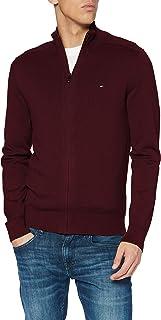 Tommy Hilfiger Pima Cotton Cashmere Zip Through Cardigan Uomo
