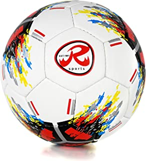 Ronex G-14 balón de fútbol de Nivel competicional con 4 Capas Interiores, Unisex Adulto - tamaño 5