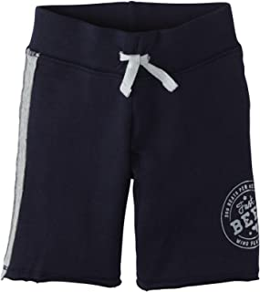 Burt's Bees Baby Baby Boys' Racing Stripe Shorts (Baby) - Midnight - 0-3 Months