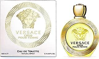 Versace Eros Pour Femme Eau De Toilette Natural Spray, 100Ml for Women