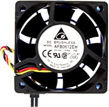 Delta Electronics AFB0612EH-ABF00 60x60x25mm Cooling Fan, 6800 RPM, 38.35 CFM, 46.5 dBA, 3-pin TAC connector