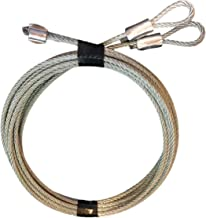 Protech Garage Doors - Pair of 7' Garage Door Cable Replacement For Torsion Springs/Lift Spring - Heavy Duty