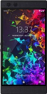 RAZER 雷蛇 Phone 2 无锁智能游戏手机 8GB+ 64GB 5.72英寸电竞游戏吃鸡手机 (120Hz QHD显示屏- 骁龙 845 - 无线充电- Razer Chroma) 镜面黑