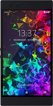 Razer Phone 2 (New): Unlocked Gaming Smartphone – 120Hz QHD Display – Snapdragon 845 – Wireless...