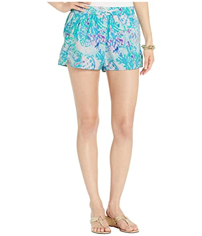 Lilly Pulitzer Run Around Shorts (Amethyst Tint Craysea) Women