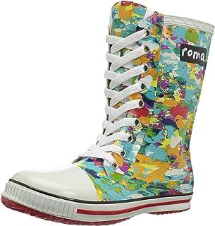 Roma Boots Kids ILONA Lace-Up Rain Boots