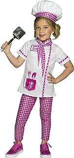 Rubie's Barbie Chef/Baker Child's Costume, Medium
