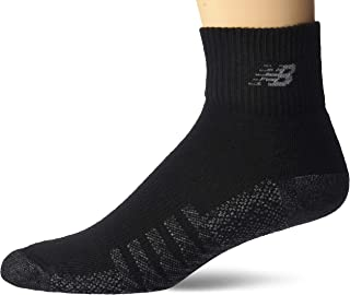 New Balance unisex-adult LAS70332 2 Pack Coolmax Quarter Socks Casual Sock