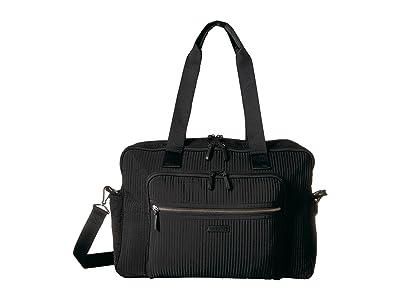 Vera Bradley Iconic Deluxe Weekender Travel Bag (Classic Black) Bags