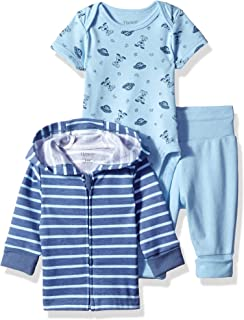 Ultimate Baby Flexy Jogger with Bodysuit and Zippin Knit...