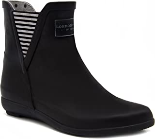 London Fog Womens Piccadilly Rain Boot