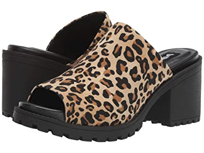 Dirty Laundry Fair Play (Tan Disco Leopard) Women