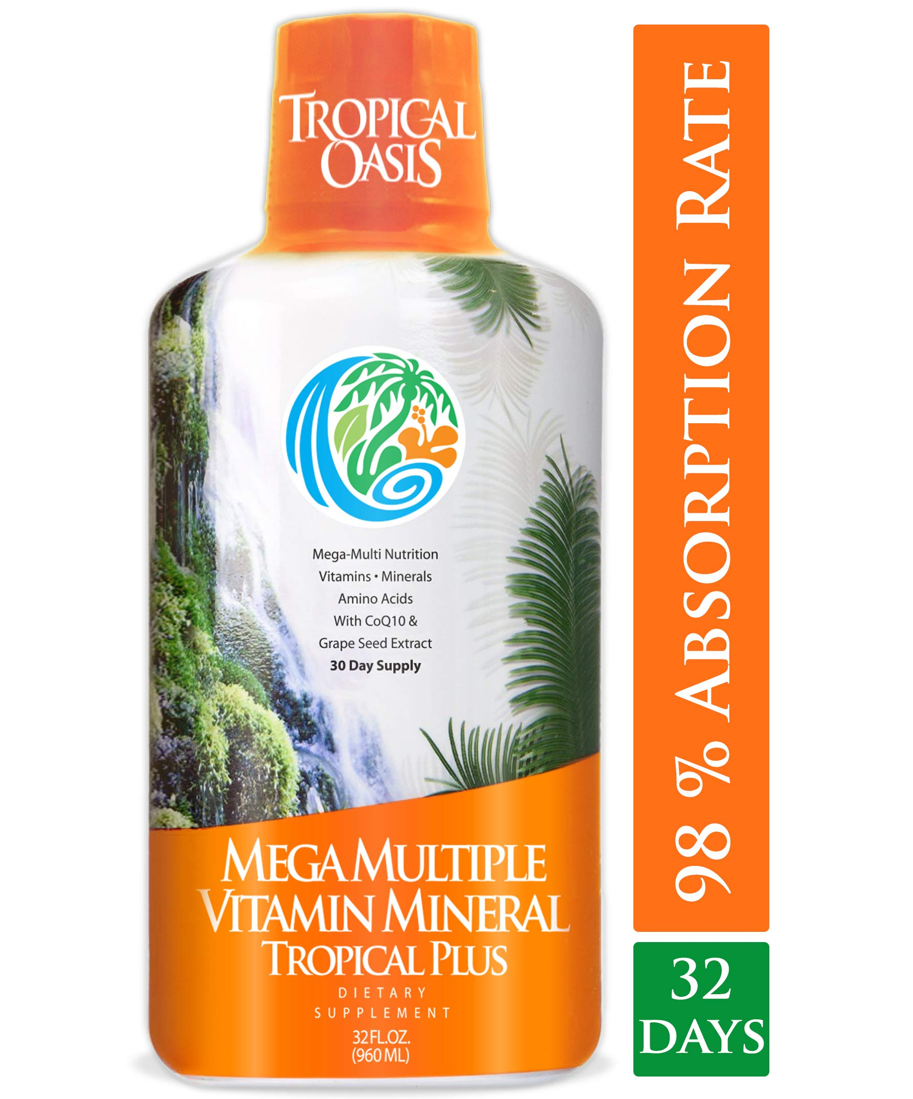 Tropical Oasis Mega Plus Multivitamin
