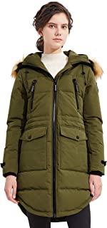 Sponsored Ad - Orolay Women's Thickened Down Jacket Winter Warm Down Coat