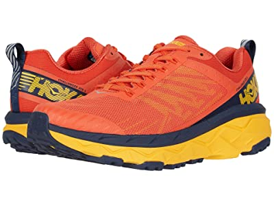 Hoka One One Challenger ATR 5 (Mandarin Red/Black Iris) Men