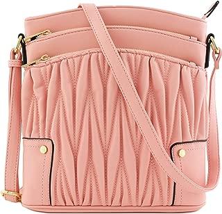 Best light pink quilted handbag Reviews
