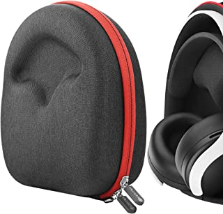 Geekria UltraShell Case Compatible with Playstation 5 Pulse 3D Wireless Headset Headphones, Replacement Protective Hard Sh...