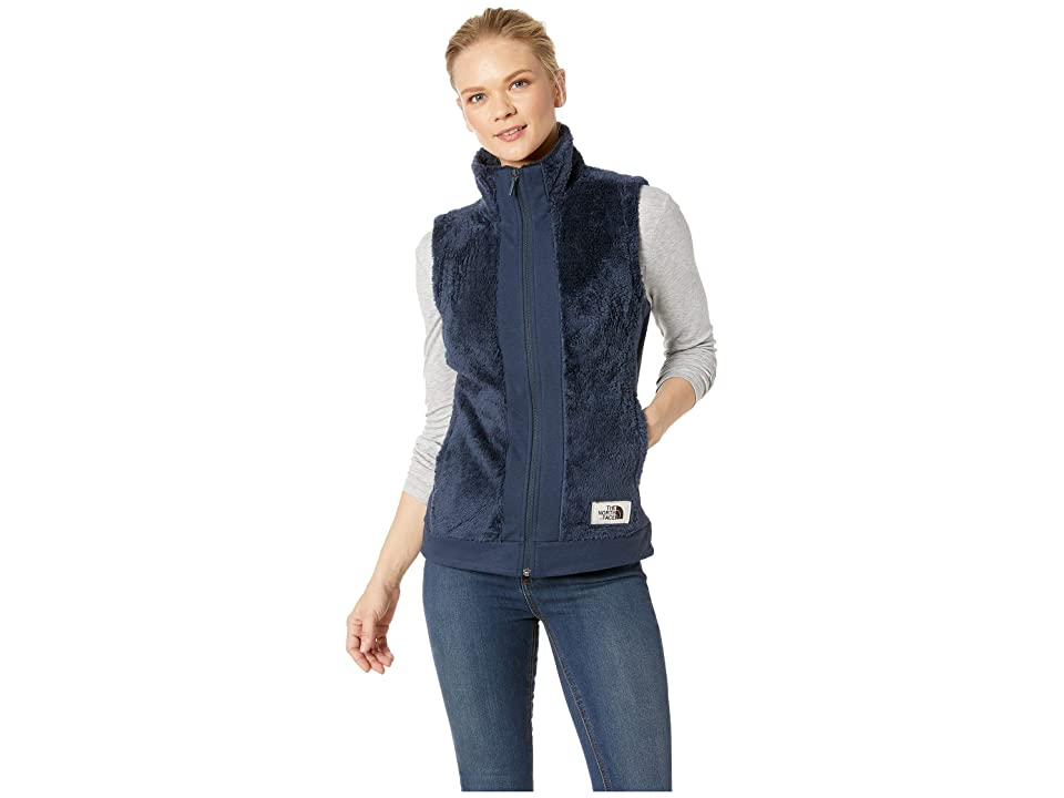 The North Face Furry Fleece Vest (Urban Navy) Women
