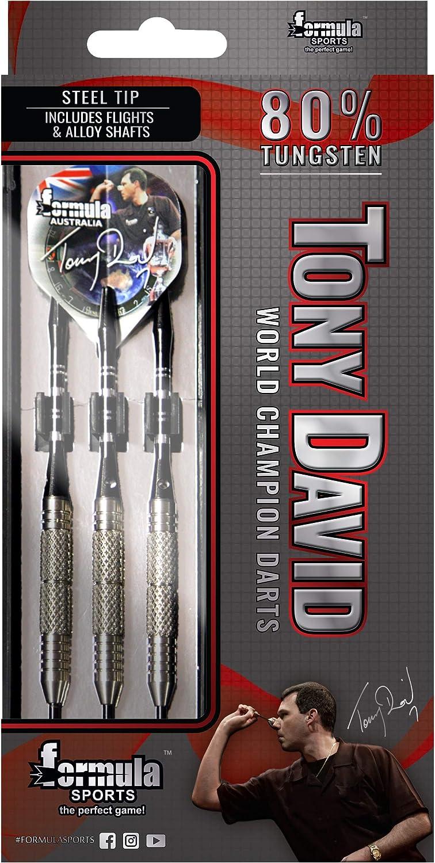 Australia's World Champion Tony David Tungsten 80% Dart Board Darts 28 Gram