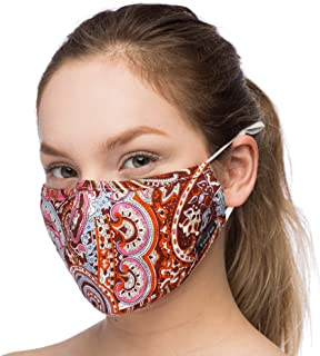 Debrief Me Anti Air Respirator Breathable Pollution Masks Carbon Activated Filtration (1 Mask+4 Filters) N95 Anti Bacterial Face Pollution Mask -Reusable Reusable comfy Cotton (Orange-Mix)
