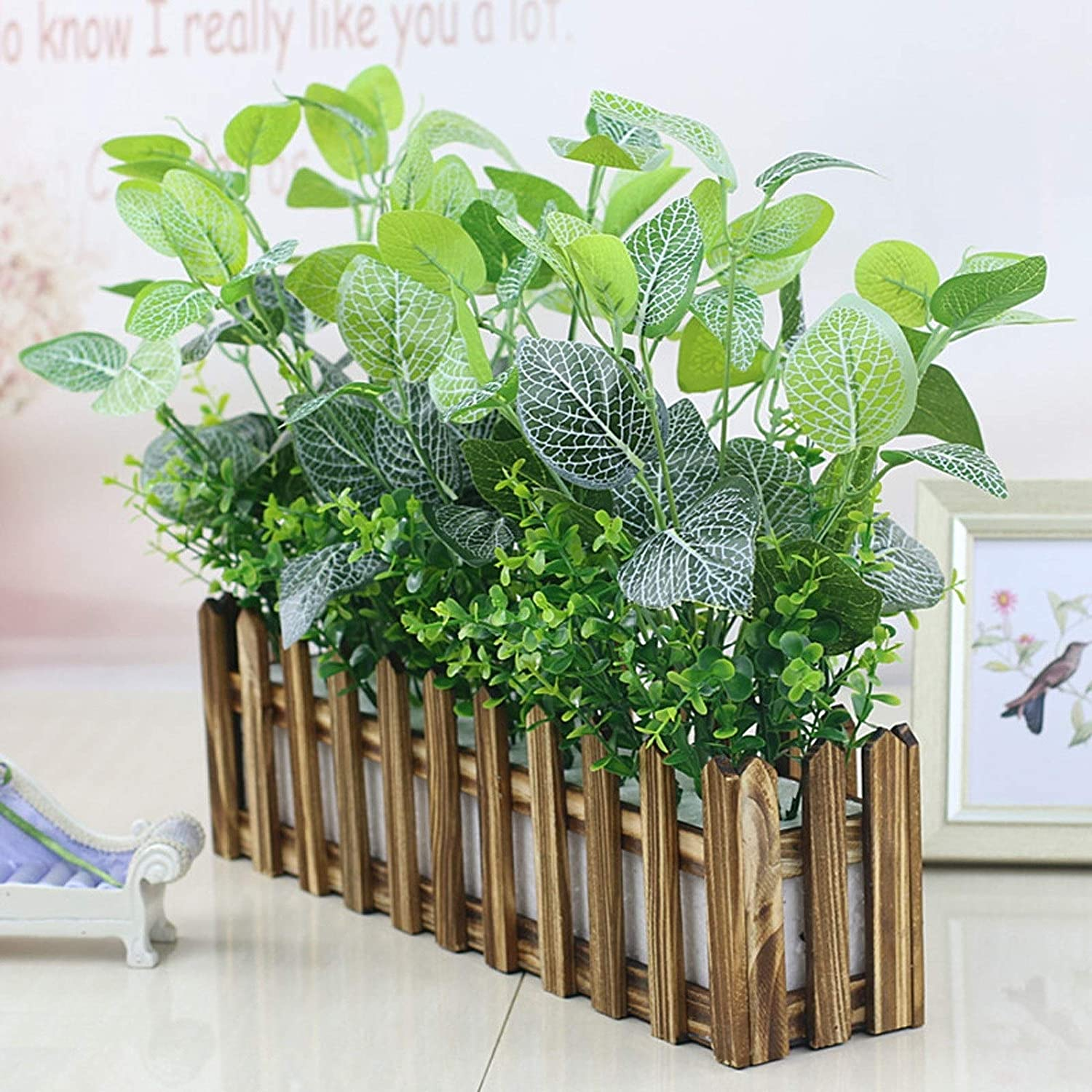 YCSX Fake Plants Artificial Discount mail Popular products order Tree Potted Faux
