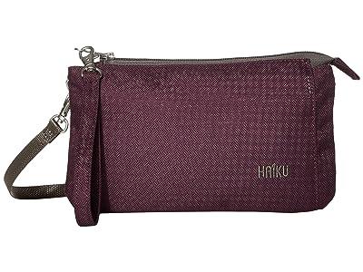 Haiku Stride (Blackberry) Cross Body Handbags
