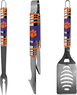 NCAA Clemson Tigers Tailgater BBQ Tool Set (3 Piece)