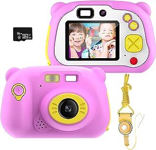 Kinderen digitale camera cadeaus voor 3-12 jaar oude meisjes, pancellent WiFi camcorder speelgoed cadeau voor jongens 12.0...