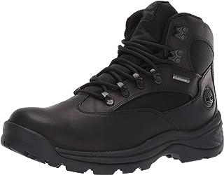 Timberland Men's Chocorua Trail Mid Waterproof Hiking Boot, Black