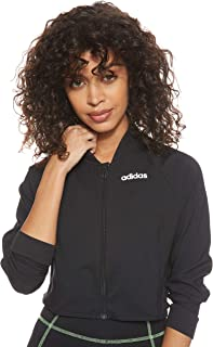 adidas Womens W D2M Cropped Track Jacket