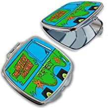 BleuReign(TM) Personalized Custom Name The Mystery Machine Van Compact Mirror